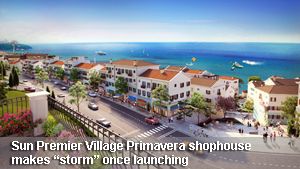 "Premier Village Primavera shophouse makes ""storm"" once launching"