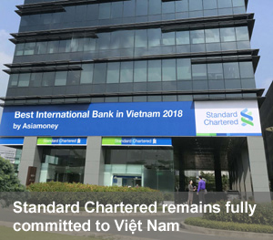 Standard Chartered remains fully committed to Việt Nam
