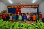 LOTTE Mart donates relief materials to 600 storm victims in Khanh Hoa, Phu Yen
