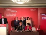 Ontario delegation inks six agreements in Viet Nam
