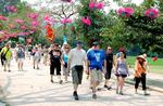Foreign visitors exceed one million per month