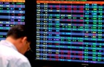 Shares fall on investor caution