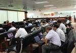 Shares on energy stocks decline
