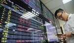 VN shares up on bank earnings