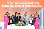 HD Mon Holdings and Indochina Capital sign agreement