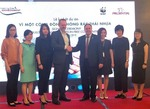Prudential Vietnam funds WFF plastic awareness project