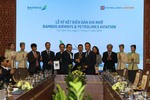 Bamboo Airways and Petrolimex's subsidiaries sign MoU