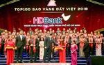 HDBank won Vietnam Gold Star award for 2018