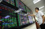 Shares rally in morning trading