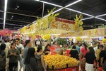 Supermarkets in HCM City gear up for Lunar New Year