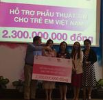 Nu Skin Vietnam donates VND2,3 billion for kids with heart diseases
