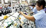First quarter GDP growth hits ten-year high