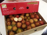 New Zealand welcomes VN rambutan