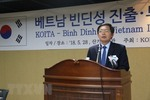 Binh Dinh province calls for S Korean investment