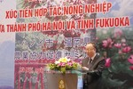 Ha Noi and Fukuoka boost agricultural cooperation