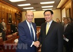 Deputy PM discusses trade, investment with US officials