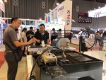 Machine, metalworking expo opens in HCM City