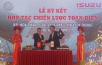 Isuzu Vietnam and Hiep Hoa Group sign deal on special-use vehicles