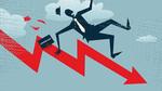 Shares decline, food stocks maintain uptrend