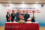 VNPT and Maritime Bank sign comprehensive co-operation agreement