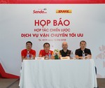 Online market Sendo ties up with DHL for local delivery