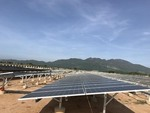 Ninh Thuan's first solar power plant connected to national grid