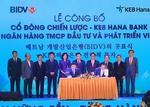 KEB Hana Bank becomes BIDV's strategic shareholder