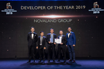 Novaland honoured as year's top developer at Dot Property Southeast Awards