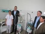 Quang Nam receives medical equipment donation