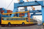 Thaco exports Vietnamese buses to Philippines