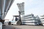 Hoa Phat's steel pipe to be exported to India