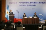 VN wants to boost trade ties with Argentina
