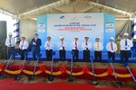 Construction resumes on Viet Nam's largest deep sea port
