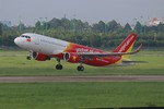Vietjet sells promotional airfares for int'l routes