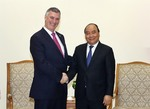 Prime Minister welcomes Boeing, HSBC leaders
