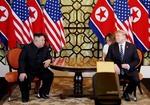 Trump, Kim begin second working day