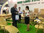 Int'l furniture, home accessories fair opens in HCM City