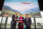 Vietjet receives new A321neo aircraft with the witness of Vietnamese National Assembly chairwoman in France