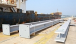 Local manufactured steel structure exported to Brunei