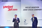 Vietjet receives 'Best Companies to Work for in Asia' award