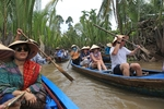 Foreign visitors to Viet Nam up