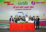 Vietjet inks MoU with Swift247 and Grab
