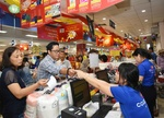 Co.opmart, Co.opXtra sell pack of 10 instant noodles for just VND1,000