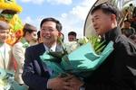 First international flight lands at Phu Cat airport