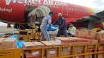 Vietjet supports people in central region