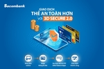 Sacombank security technology for online payments upgraded to latest version