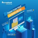 Sacombank acceptsdomestic tax payments via Internet Banking