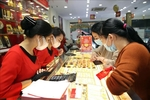 Gold prices fall in the market