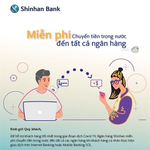 Shinhan Bank offers free online money transfer