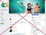 Viettel removes fake fanpages from Facebook